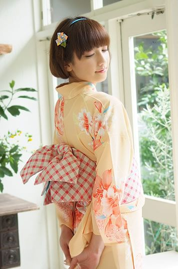 Yukata-style Kimono
