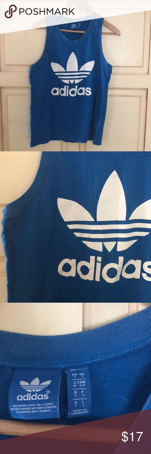Adidas workout tank Adidas original workout tank - men's small. Make an offer :) adidas Tops Tank Tops