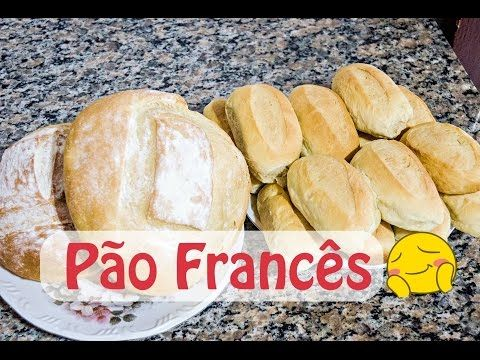 Receita do famoso pãozinho francês! Já o podes fazer em casa! Fica uma delícia!