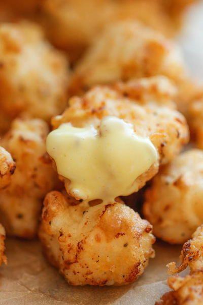Restaurant Style Nuggets with Homemade Honey Mustard | AllFreeCopycatRecipes.com