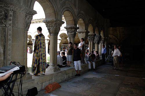 Tudela. 8 razones con fundamento para visitarla.  Claustro de la catedral de Santa María. Oficina de Turismo de Tudela.