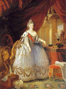 Sophie Dorothee von Württemberg, als Zarin Maria Fjodorowna