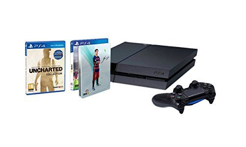 PlayStation 4 - Consola 1TB + FIFA 16 con Steelbook (solo en Amazon) + Uncharted: The Nathan Drake Collection #friki #android #iphone #computer #gadget Visita http://www.blogtecnologia.es/producto/playstation-4-consola-1tb-fifa-16-con-steelbook-solo-en-amazon-uncharted-the-nathan-drake-collection