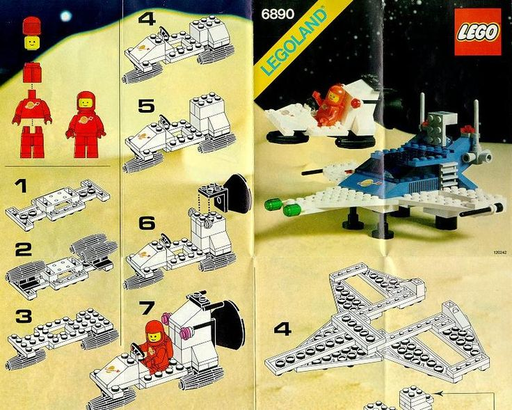 Space - Cosmic Cruiser [Lego 6890]                                                                                                                                                                                 More