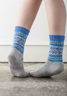 Brighton / Coop Knits Socks