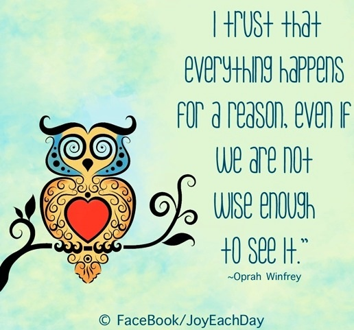 everything happens for a reason quote via