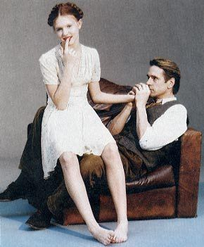 dominique swain and jeremy irons picture for Lolita 1997