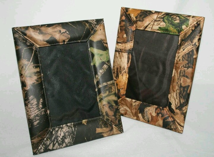 camo picture frames