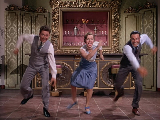 Donald O'Connor, Debbie Reynolds, & Gene Kelly
