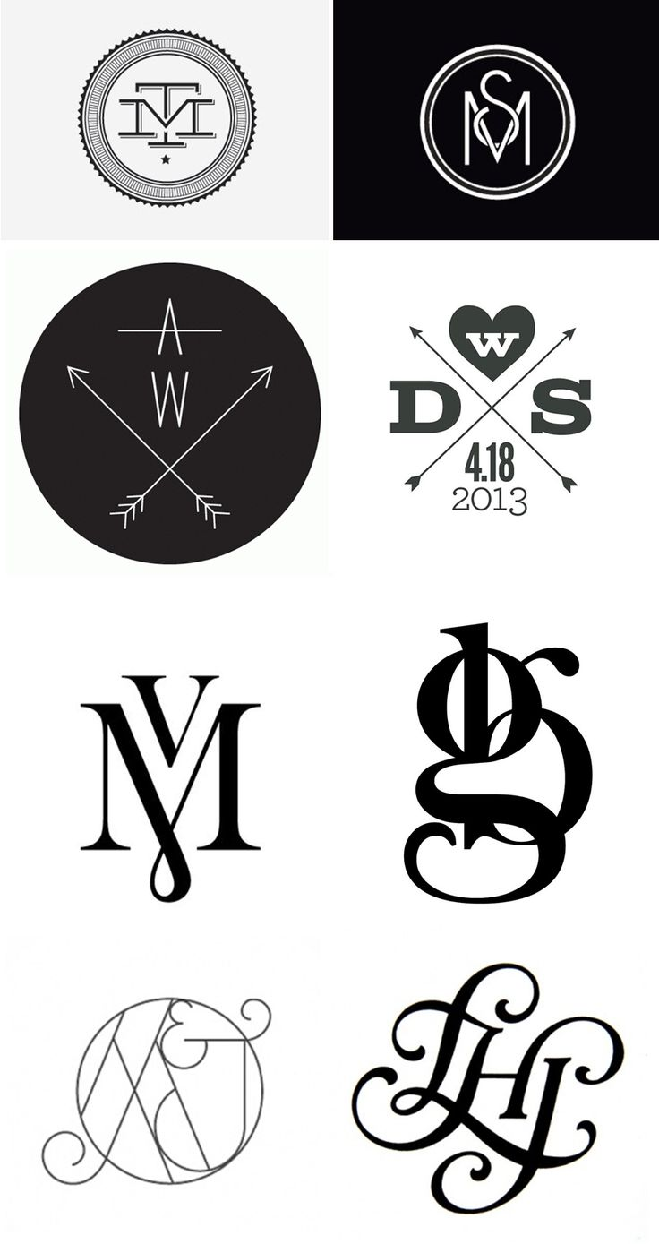 25 Best Ideas About Monogram Tattoo On Pinterest