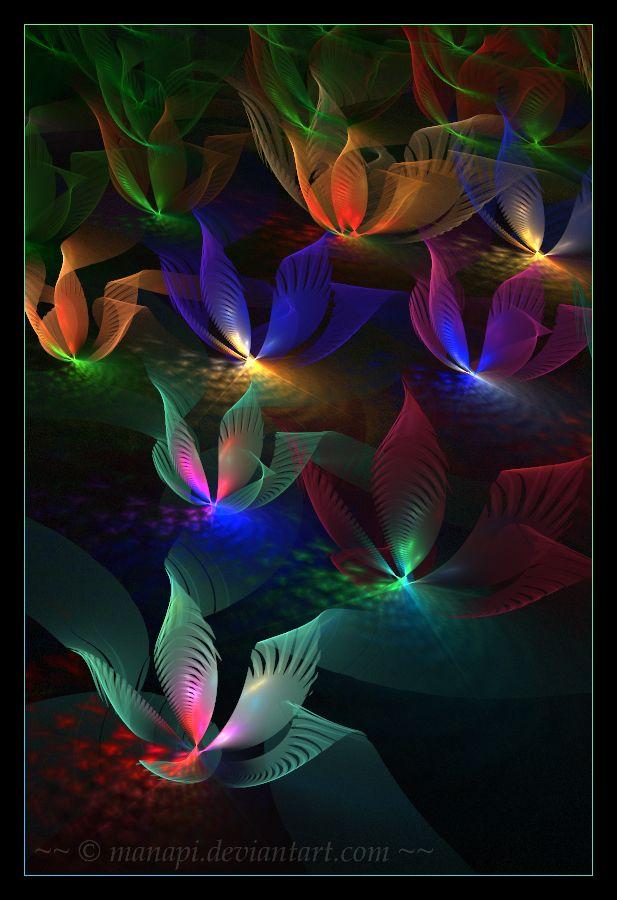 Magic garden by ~manapi on deviantART