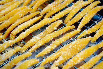 candied orange peels | Food | Pinterest