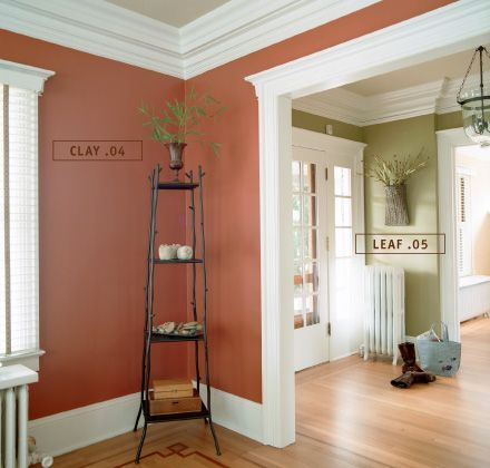 17 best images about colorhouse clay color family on - Painting bedroom walls different colors ...