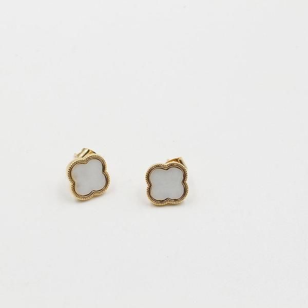 حلق فان كليف شيل صغير ملون Accessories Earrings Stud Earrings Earrings