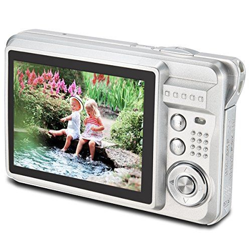 The Cheapest Aberg Best 18 mega pixels HD Digital Camera  Digital video camera  Students cameras  Students Camcorder  Handheld Sized Digital Camcorder Indoor Outdoor for Adult /Seniors / Teens / Unisex Children / Kids (silver) The Cheapest