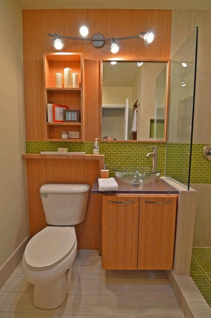 75 best images about walk in shower small bathroom on - Doorless shower designs for small bathrooms ...