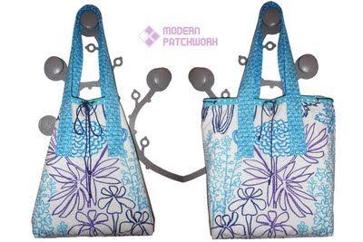 Ako ušiť plážovú tašku | Modern Patchwork