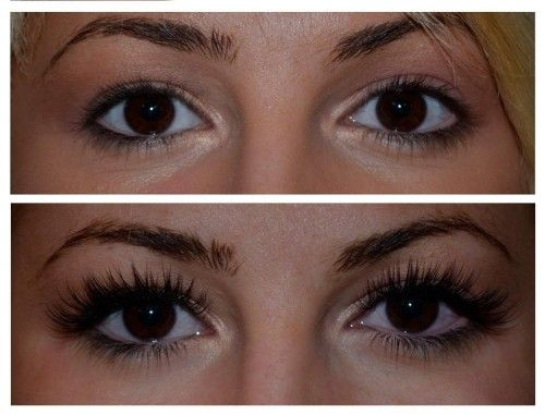 eyelashes1 500x380 Why Im Obsessed with Eyelash Extensions