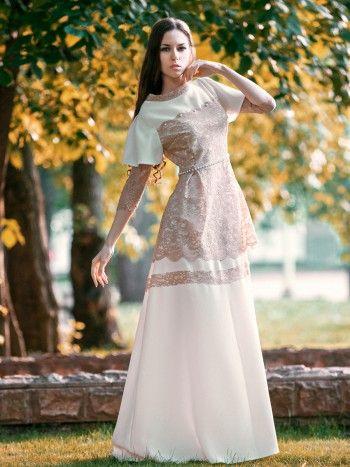 Русские вечерние платья .