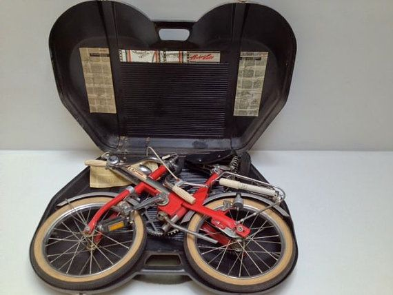 Folding Bicycle Hercules Auto Velo Bike Fold up by RealGoodWorks, $775.00