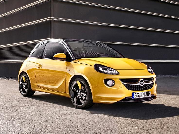 2013 Opel ADAM Yellow