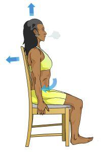 En réalisant des «abdos classiques», vous rapprochez les épaules du bassin, vous bombez le ventre et vous augmentez la pression dans votre abdomen. Silhouette distendue et pertes d'urine menacent…