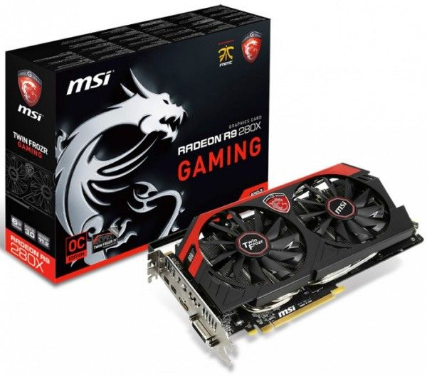 MSI rolls out R9 280X with 6GB of memory