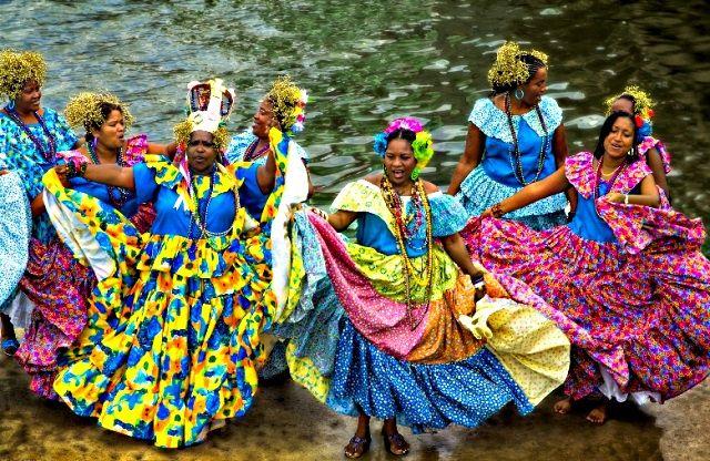 Deuxième Festival de Pollera Congo à Portobelo 15 mars 2014 - Colon - Panama - Actualités Vivre-au-panama.com (1)