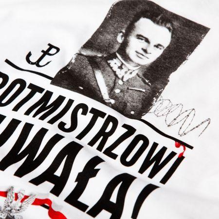 Koszulka patriotyczna Rotmistrz Witold Pilecki - odzież patriotyczna, koszulki męskie Red is Bad