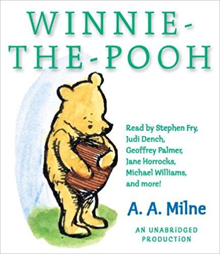 For Robin & co.?  Winnie-the-Pooh: Amazon.ca: A.A. Milne, Stephen Fry, Judi Dench, Michael Williams, Various: Books