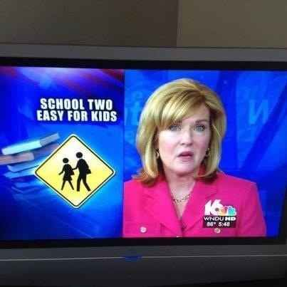 When this newscast happened.   31 Times Irony Was Almost Too Ironic