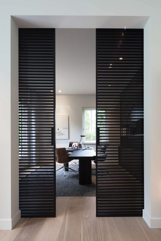 Home Office Design – Fast jeder arbeitet gerne zu Hause. W … # works #desig