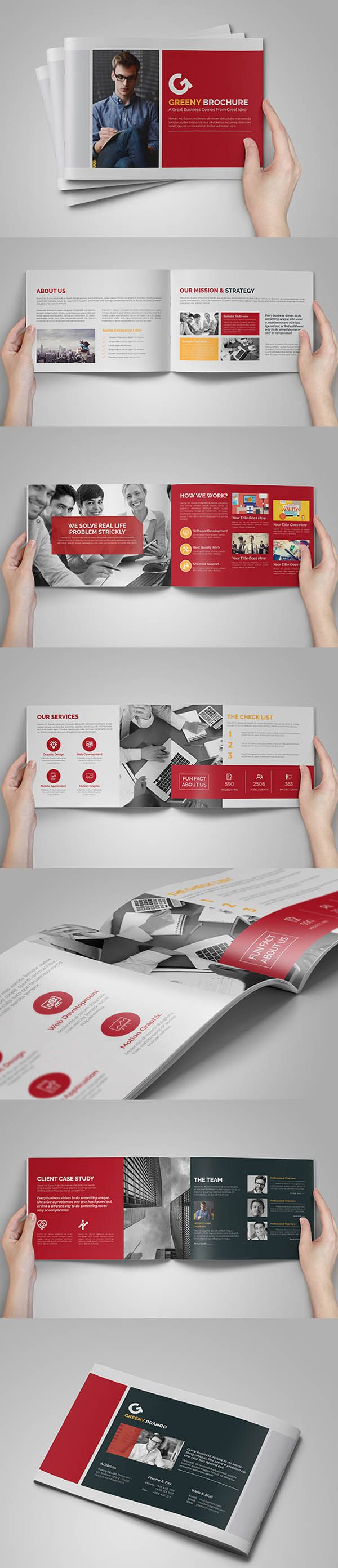 A5 14 Business Brochure/Catalog -Multipurpose Template