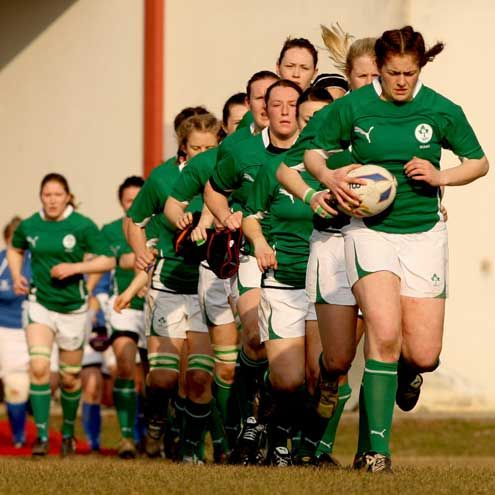 Irish Women's Rugby Team