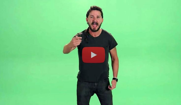 If you're waiting for something to wake you up and inspire you to pursue your dreams, look no further. This is one of the funniest, weirdest, and most powerful motivational speeches you will ever hear. Shia LaBeouf is known for his acting, but this is no joke. Get ready to get yelled at: