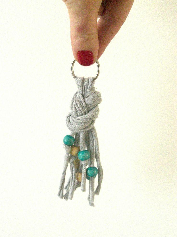 Gabulle in Wonderland: Porte clés en trapilho (trapilho keyring) http://gabulleinwonderland.blogspot.fr/