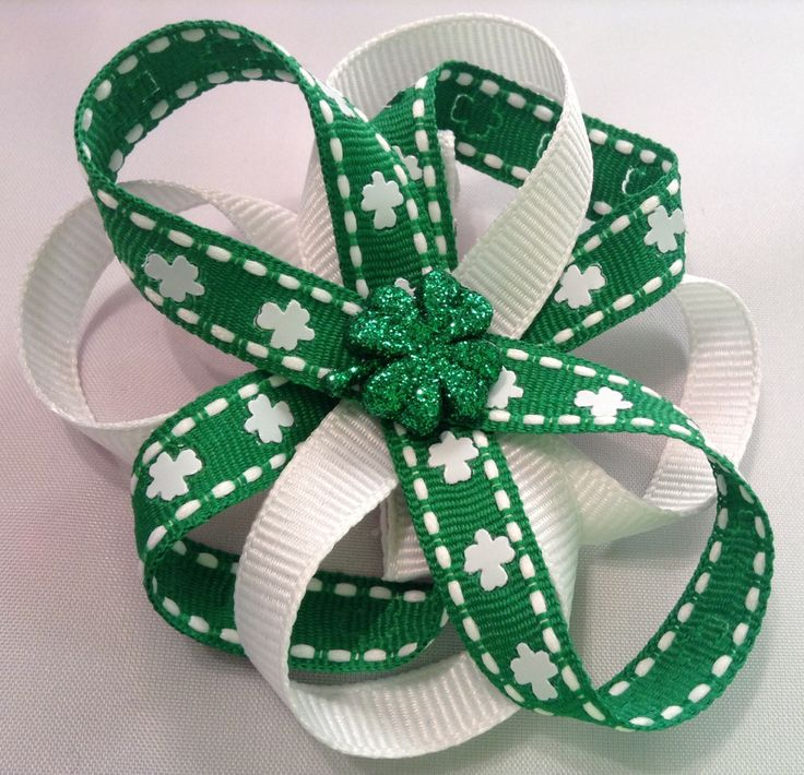 A personal favorite from my Etsy shop https://www.etsy.com/listing/269924903/st-patricks-day-hair-bow