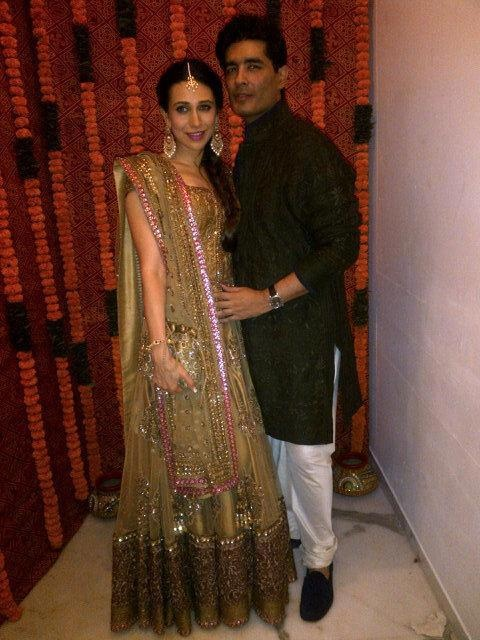 Karishma at Kareena's Sangeet