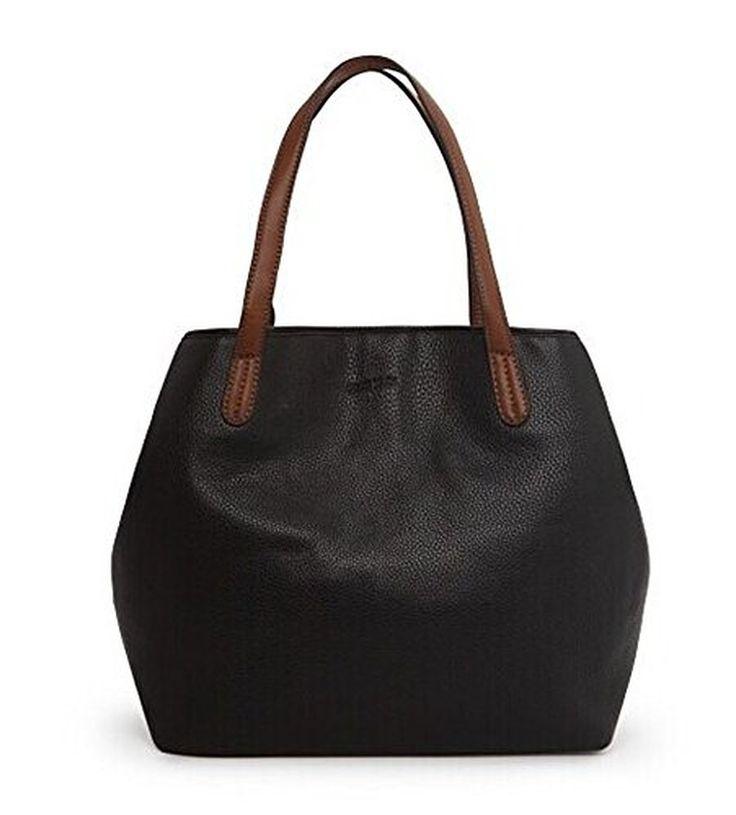 Cfanny Women's Convertible Bucket Shoulder Tote Office Work Handbag