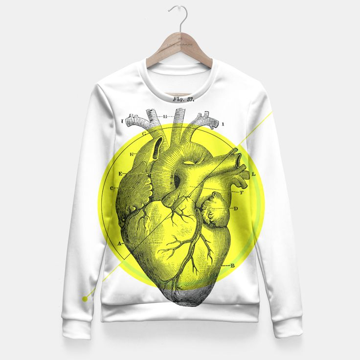 Anatomy Collection | Heart - Green Fitted Waist Sweater by VIBES&SOUL 49.95€