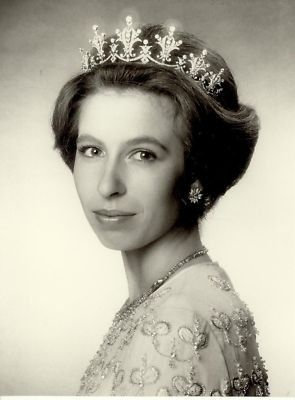 Beautiful portrait of Princess Anne