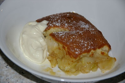 caramel apple pudding in the thermomix