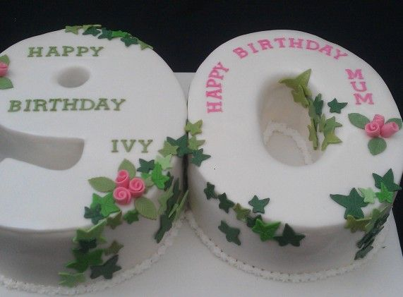 11 best images about Numbered birthday cakes on Pinterest ...