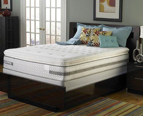 sealy deluxe plush mattress only full by sealy mattress height 12 pillow top