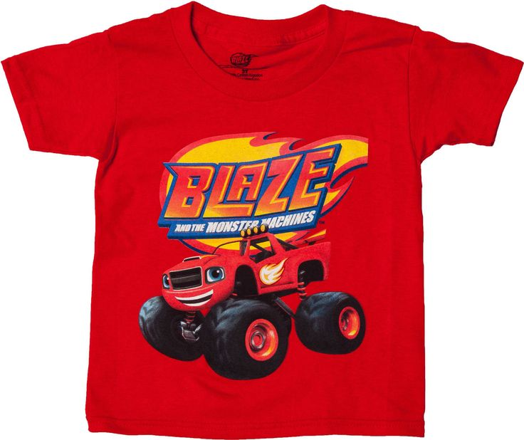 Blaze And The Monster Machines Shirt From Hit Nick Jr Show