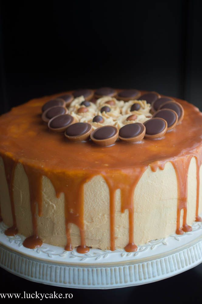 Tort Caramelo - Lucky Cake