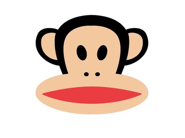 Paul Frank monkey from Target