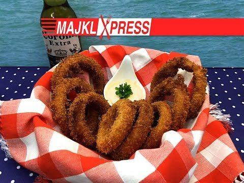 Majkl Express: Nejchutnější Onion Rings recept (cibulové kroužky recept)…