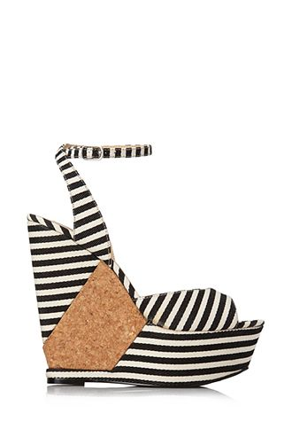 I love these nautical wedges! #SummerForever  #F21xMe  Nautical Wedge Sandals   FOREVER21 - 2000089986