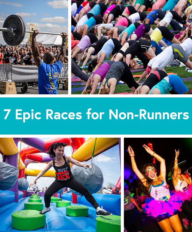 The 7 Best Competitions for People Who Hate Running via @DailyBurn